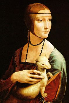 Lady with an Ermine Da Vinci iPhone Wallpaper Download