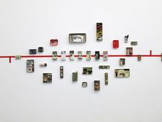 lovers of mint: Mano Kellner, ou l'art de mettre en boite Exhibition Display, Exhibition Space, Museum Exhibition, Art Museum, Display Design, Design Art, Display Wall, Display Ideas, Graphic Design