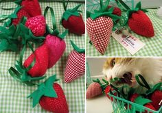 Too cute! Even comes in a green berry basket