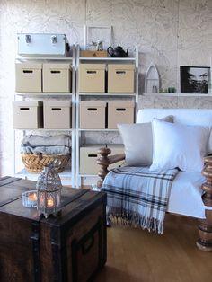 Francesca's home: dvd&co into ikea pappis boxes