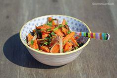 {Grillen & Salat} Zitrus-Möhrchen mit Datteln