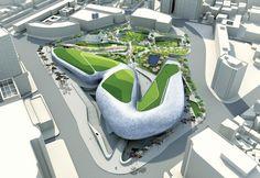 #Zaha Hadid Korea Dongdaemun Design Plaza