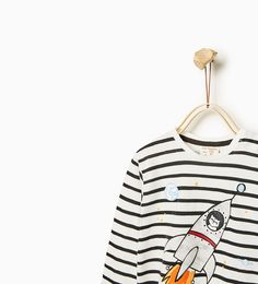 ZARA - KINDEREN - T-shirt Catstronaut #joinlife
