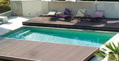Volet piscine, bâche ? Et si vous optiez pour une terrasse mobile pour couvrir votre piscine ? | Equipement & entretien | PiscineSpa.com