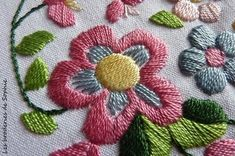Le pouvoir des fleurs Mars 2013 - Les Broderies de Sophie