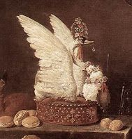 Researching Food History - Cooking and Dining: Peacock Pye and Swan Pies