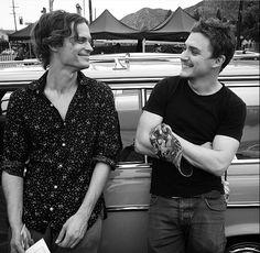 Matthew Gray Gubler and Kyle Gallner