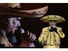 Popular Ranchera singer Vicente Fernandez announced recently he plans to retire.