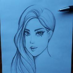 Рисунок карандашом...