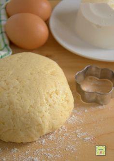 Pasta frolla alla ricotta Biscotti Cookies, Brownie Cookies, Nake Cake, Ricotta Cheesecake, Plum Cake, Italian Cooking, Cannoli, Antipasto, Sweet Recipes