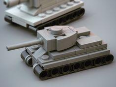 Lego micro tank by Nic Lego Soldiers, Lego Ww2, Lego Army, Lego Military, Military Vehicles, Lego Mechs, Lego Bionicle, Legos, Lego Plane
