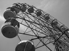 deserted ferris wheel, Pripyat (near Chernobyl)