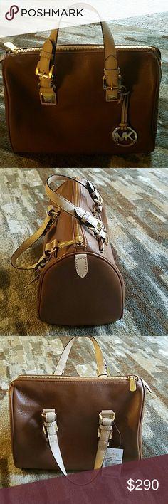 Michael Kors purse Brand new leather satchel ,with tags model :Grayson Michael Kors Bags Satchels