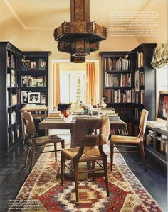 more dining room/library