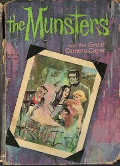 Whitman TV book munsters