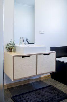 Make Furniture - 2 Door Birch Plywood Vanity