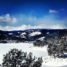 Thank god for the snow! #boulder #colorado #snow #eldora #ski