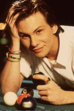 Christian Slater pump up the volume Young Christian Slater, Heathers The Musical, Image Film, Raining Men, Hollywood, Attractive People, Celebrity Crush, Cute Guys, Movies