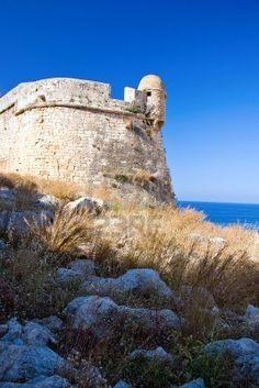 Fortezza veneciano en Rethymno, Creta, Grecia