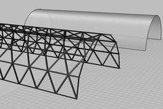 Geodesic cylinder.