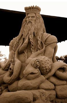 Sand sculpture. Amazing.
