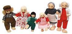 Bartl, Puppenfamilie für das Puppenhaus 6-tlg. | 0596 / EAN:4013594292047