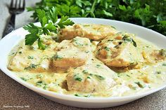 Kulinarne Inspiracje Futki: Kurczak w sosie śmietanowo - musztardowym