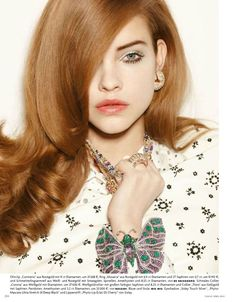 Barbara Palvin: Vogue Germany, April '12 > photo 1842222 > fashion picture
