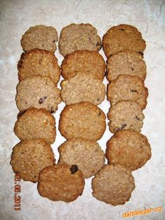 OVESNÉ KOLÁČKY ZE ŠPALDOVÉ MOUKY +++ Muffin, Cookies, Breakfast, Recipes, Food, Fitness, Crack Crackers, Morning Coffee, Biscuits