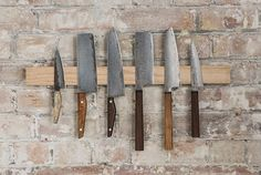 Based in Peckham, London, Blenheim Forge handcrafts some of the world's most beautiful (and expensive) kitchen knives.