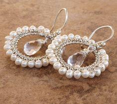 gorgeous handmade bridal jewelry!