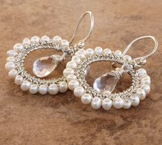 gorgeous handmade bridal jewelry!