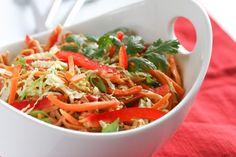 Asian Cold Noodle Salad via @foodnfocus