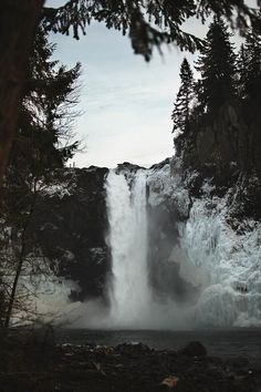 Snoqualmie Falls by Steven Leonti on Flickr.