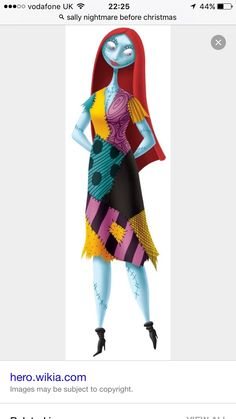 Nightmare Before Christmas & Womens Plus Size Sally Costume | Halloween | Pinterest | Sally ...