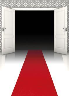 VIP-bileet. Punainen matto