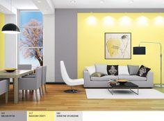 Śnieżka Satynowa kolor 517 Radosny żółty