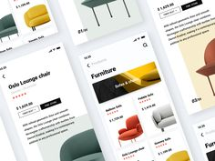 Furniture dribbble 2