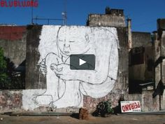 MUTO a wall-painted animation by BLU on Vimeo Blue Merle, Animal Cartoon Video, Art Journal Techniques, Arts Ed, Living At Home, Outdoor Art, Chalk Art, Funny Animal Pictures, Street Artists