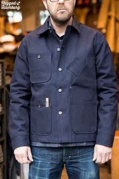 ruggedhamburg, Tellason Coverall Jacket the quest for the perfect pockets