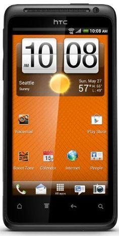 HTC EVO Design 4G Prepaid Android Phone (Boost Mobile) HTC