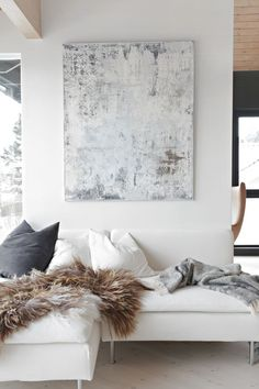 grey and white color scheme for home design | home decor inspiration