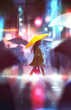 Rain.  Hello friends! It's been awhile since I've been on this site. An exact year almost! Thank you to anyone who even bothered sticking around. I've been so busy, and a lot has happened in the past year, but I'm a lot more focused and confident in...