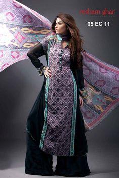 Resham Ghar Eid Collection 2011