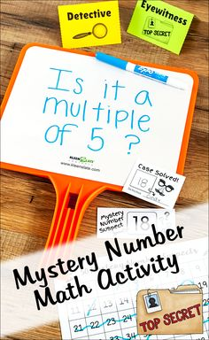 Mystery Number Detectives is an exciting math activity that reinforces math vocabulary and helps students develop a deeper understanding of mathematical concepts. It's also a fun math test prep game that your students will beg to play! Math Test Games, Math Activities, Leadership Activities, Teaching Resources, Math Vocabulary Words, Elementary School Counseling, Elementary Schools, Physical Education Games, Cooperative Learning