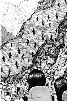 O Enigma da Falha de Amigar, de Junji Ito | 13 mangás japoneses de terror que vão desgraçar a sua cabeça