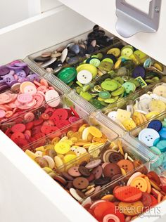 Jen Gallacher's room - Paper Crafts & Scrapbooking Creative Spaces, Vol. 3: organization, craft room, DIY