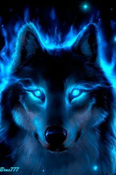 He froze as the creature emerged from the shadows and yapped at him. It had the appearance of a wolf but something seemed off about it. Tier Wallpaper, Wolf Wallpaper, Animal Wallpaper, Anime Wolf, Artwork Lobo, Wolf Artwork, Wolf Photos, Wolf Pictures, Fantasy Pictures