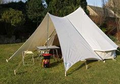 Tent wall tent and platform on pinterest for Canvas platform tents