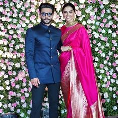 Deepika Padukone with Ranveer Singh Deepika Ranveer, Ranveer Singh, Deepika Padukone, Indian Celebrities, Bollywood Celebrities, Bollywood Actress, Indian Look, Indian Wear, Bollywood Stars